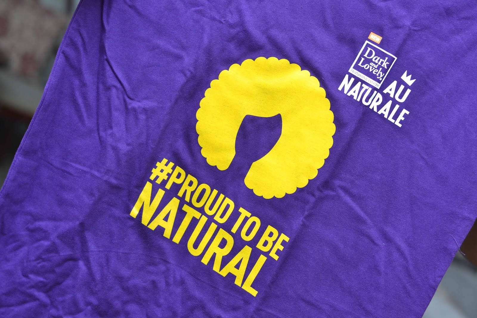 Proud to Be Natural T shirt