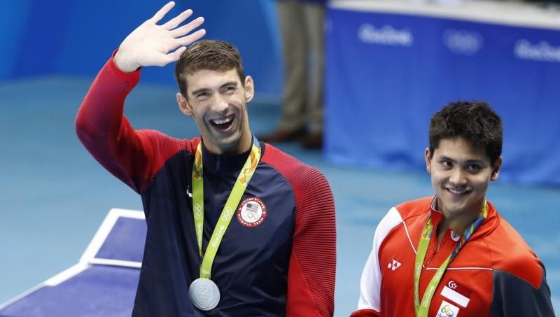 Michael Phelps dan Joseph Schooling