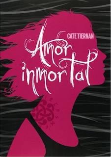Resultado de imagen de portada de amor inmortal cate tiernan