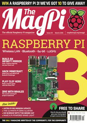 The MagPi 43ª edição