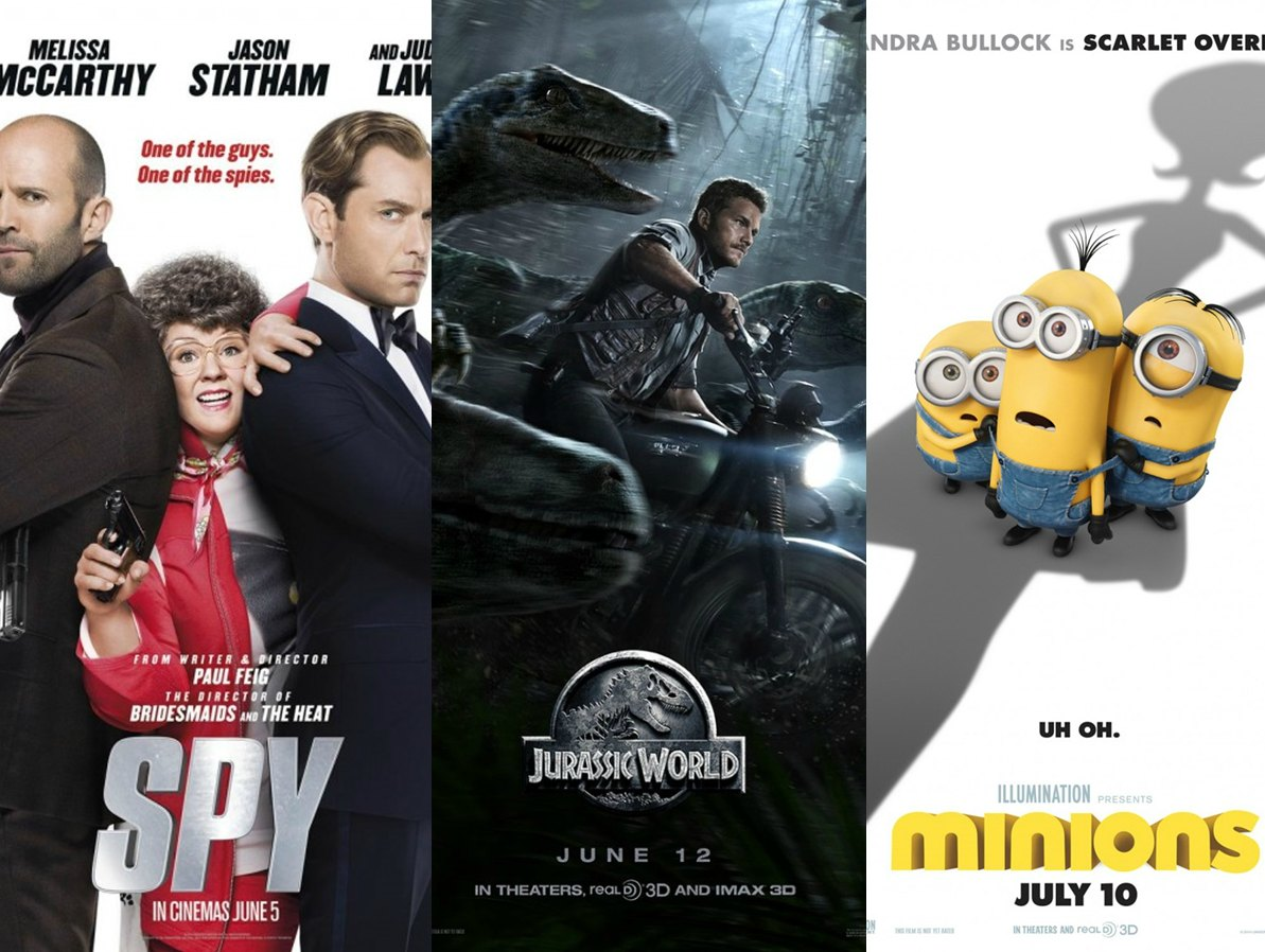 Spy Jurassic World Minions film review