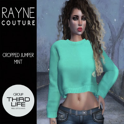 RAYNE COUTURE -  CROPPED JUMPER // THIRDLIFE EXCLUSIVE GIFT