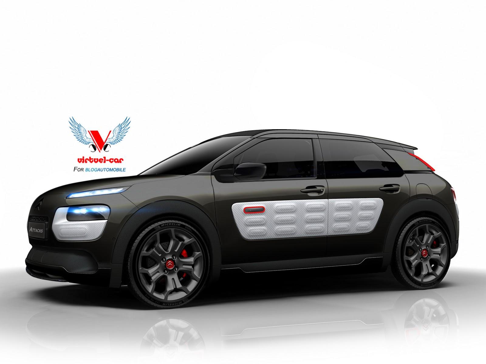 Lexus F Sport >> How About a Citroen C4 Cactus Sport? | Carscoops