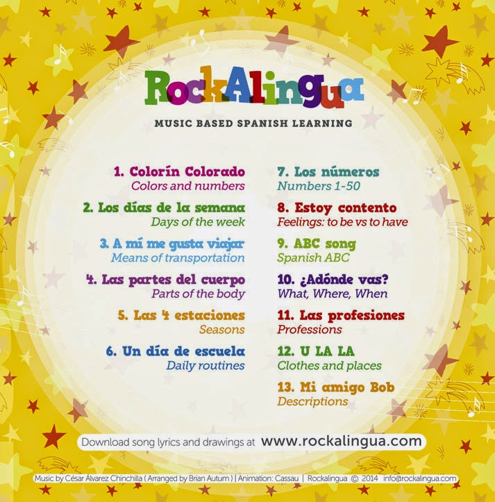 RockAlingua Has A DVD Now! {Review & Giveaway} - FunForSpanishTeachers