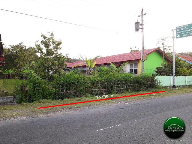 Tanah tepi Jalan Bibis-Bangunjiwo, Bantul