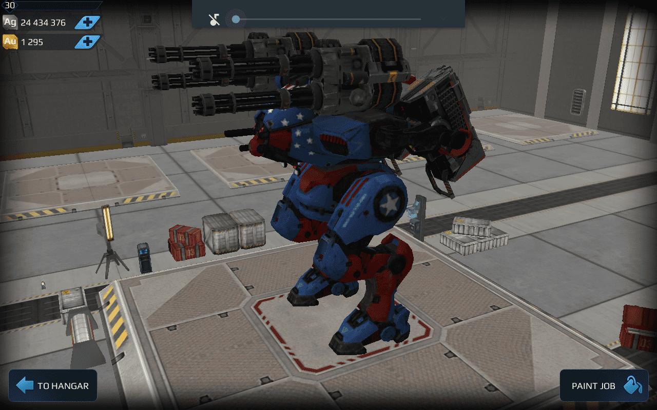 best robot in war robots game