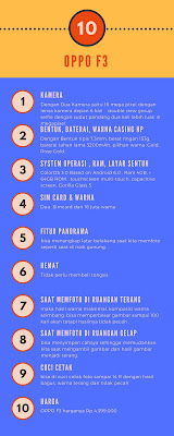 harga hp first experience oppo f3