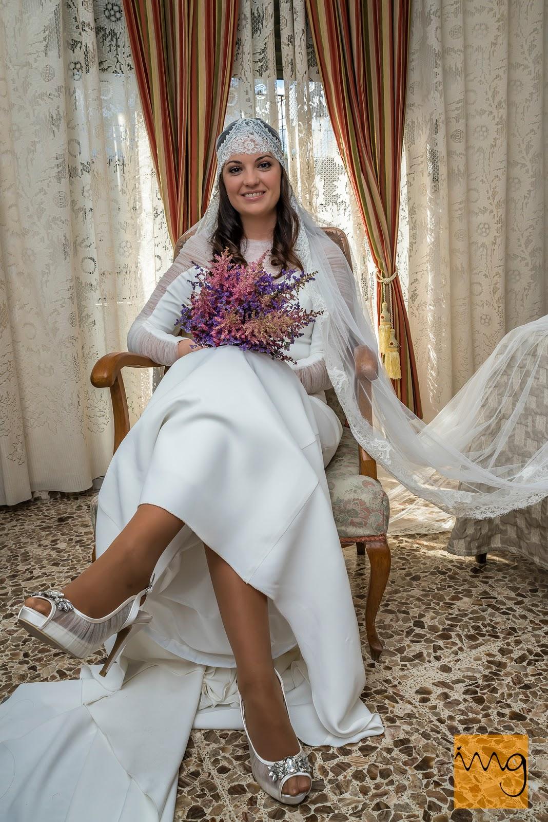 Fotografía de boda en los preparativos