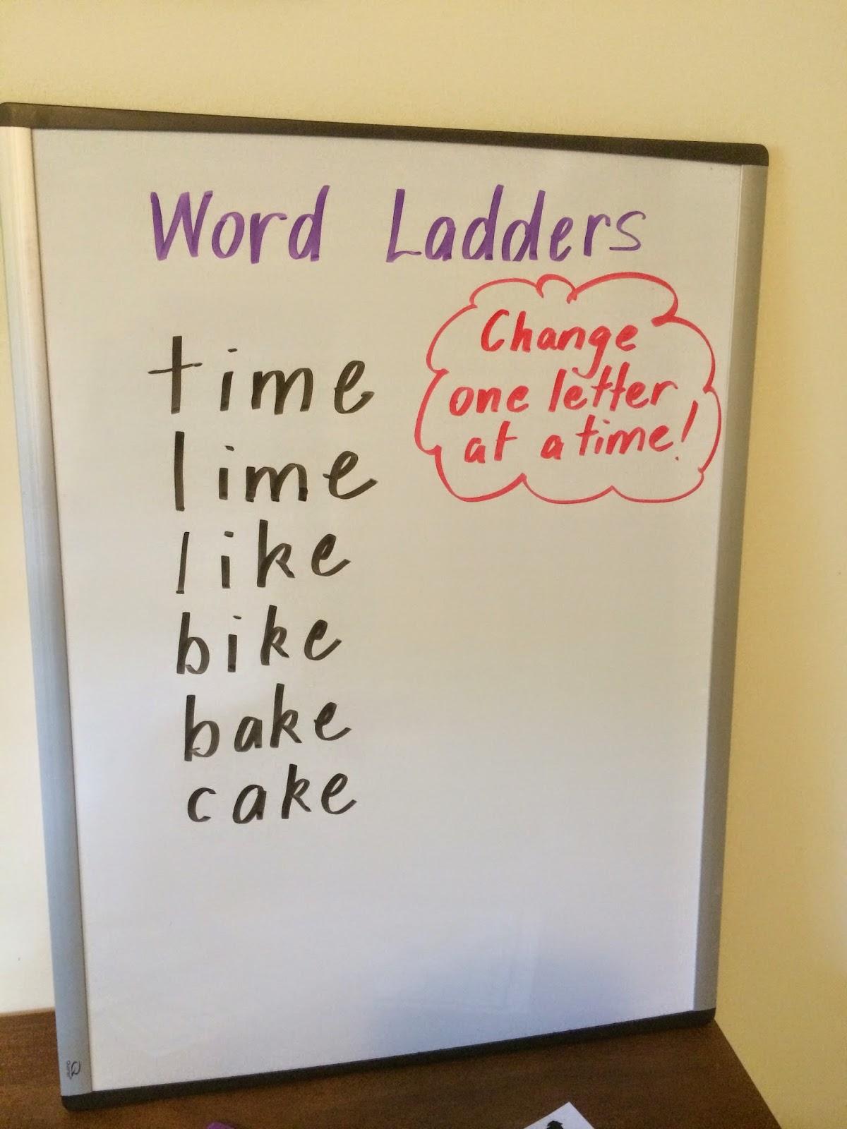 Fun Games 4 Learning: Word Ladders