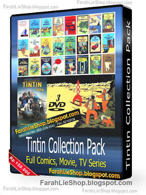 tintin collection pack