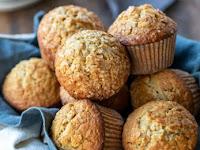Maple Brown Sugar Oatmeal Muffins