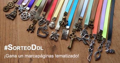 Sorteo DDL marcapáginas tematizados Día del Libro - Cine de Escritor y Ooak Craft
