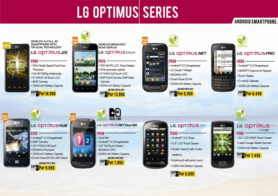 Lg phones price list philippines, telephone lookup by name