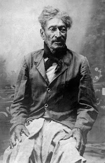 Soldado Antonio Rojas, guerrero del Paraguay, c.1884 (AGN , Documento Fotográfico, inventario 110508)