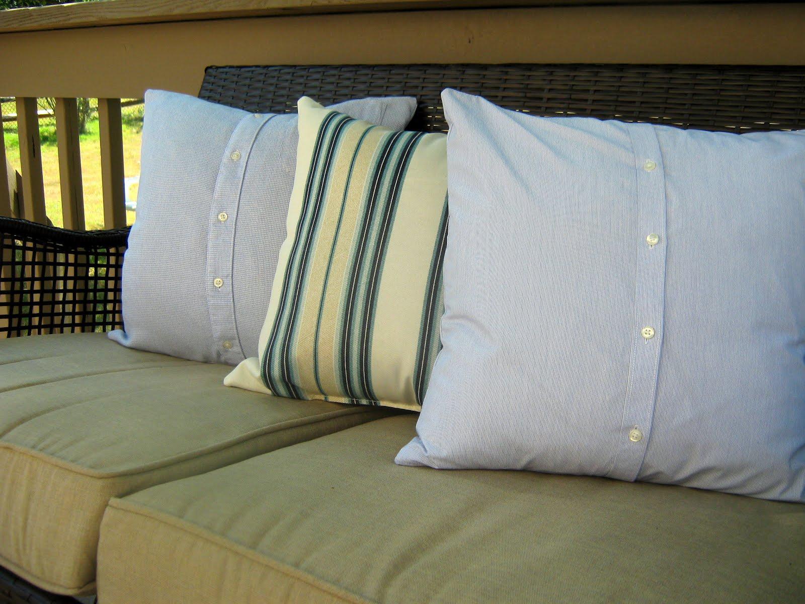 Home Made Modern Men S Shirt Pillows