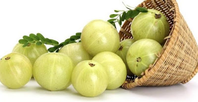 Amla Berries  to grow your hair faster and thicker