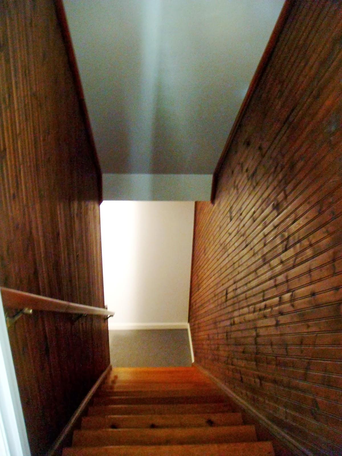 Lighting Basement Washroom Stairs: Sweet Magnolia Way: Brightening Up The Stairs