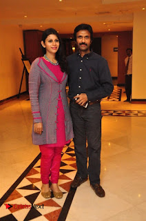 Aiswarya Rajinikanth Dhanush Standing on an Apple Box Launch Stills in Hyderabad  0018.jpg
