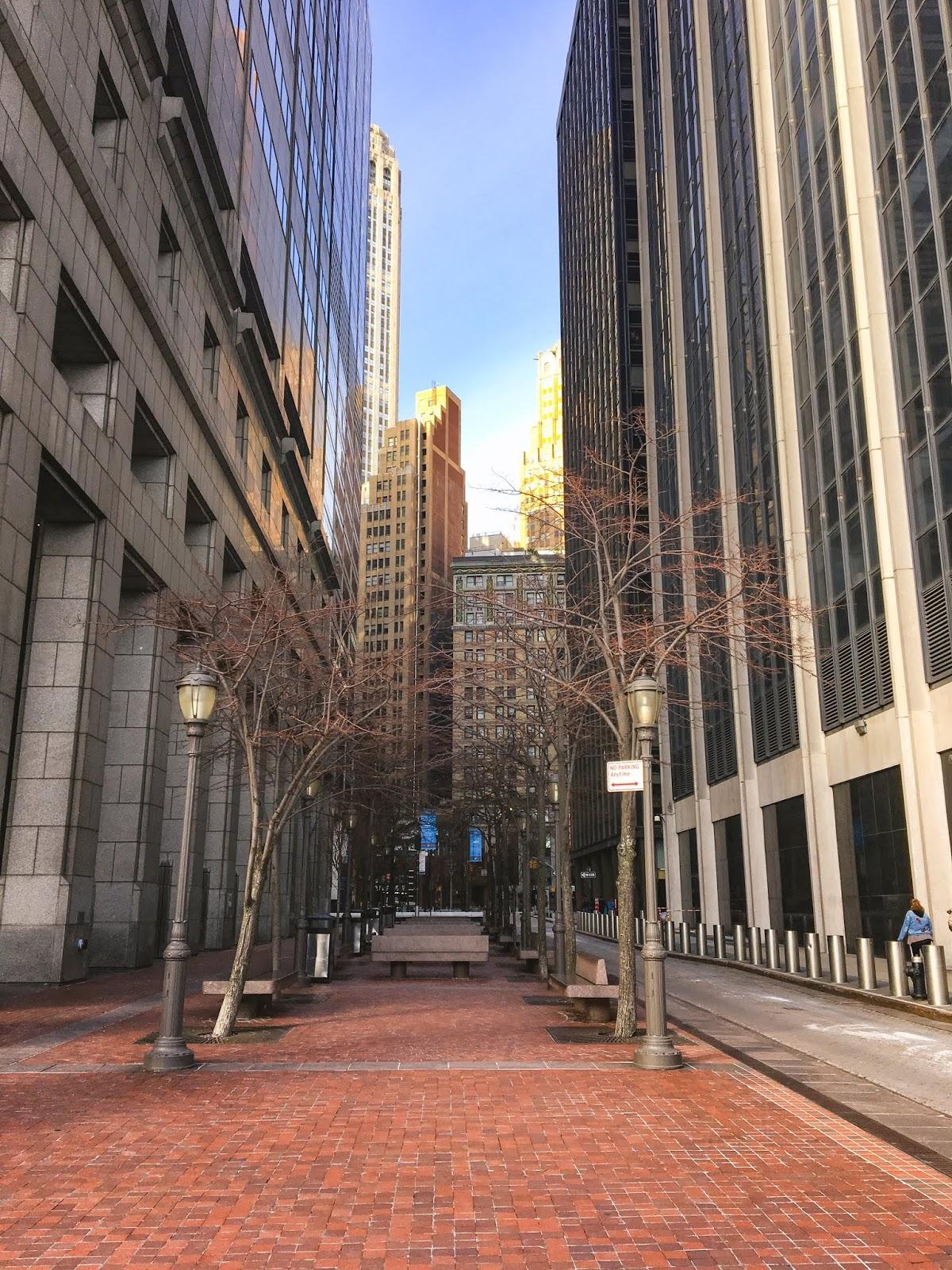 Spaziergang zum Ground Zero