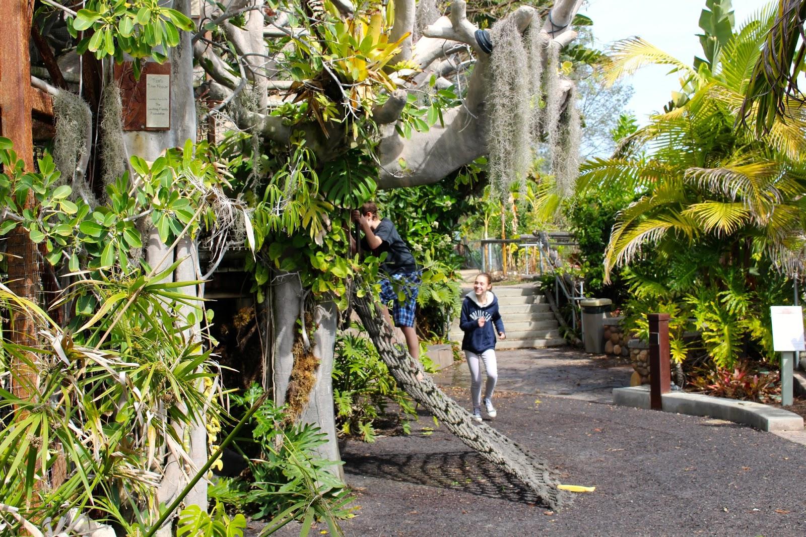 Be Brave Keep Going Visiting San Diego Botanic Garden