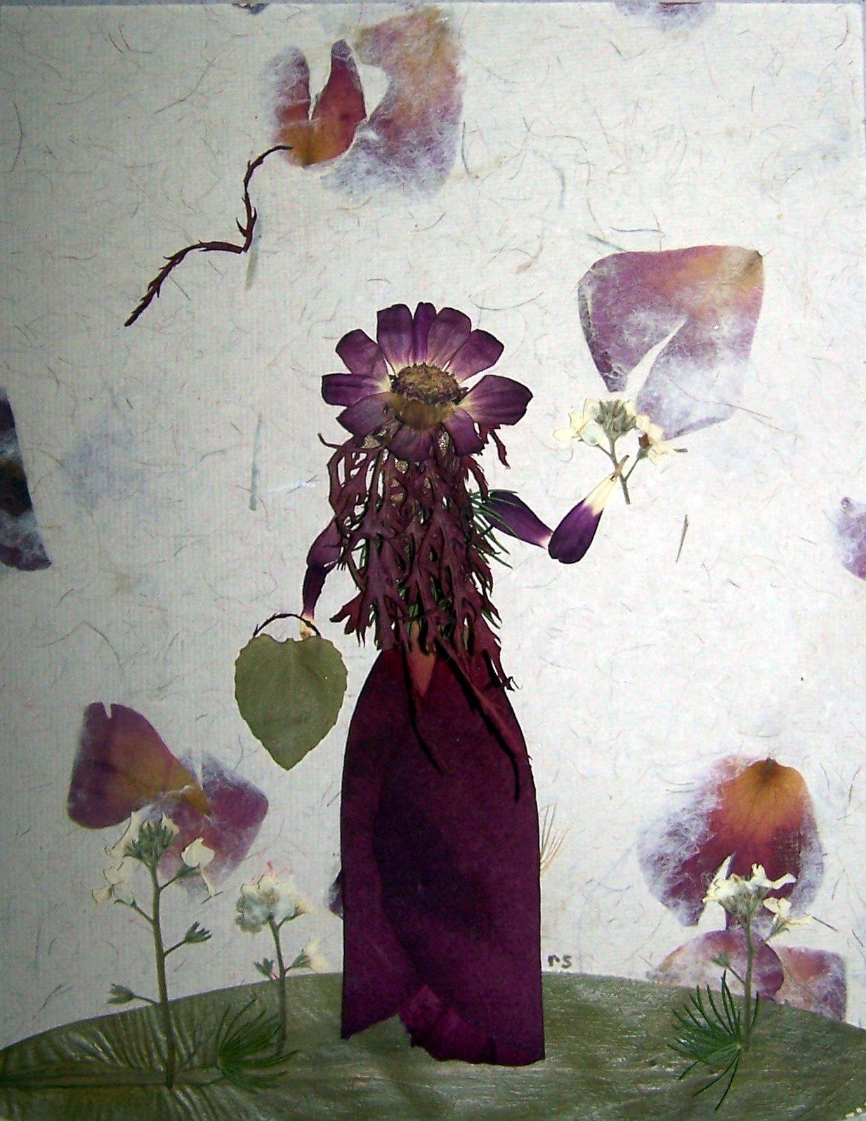 Flowerox News: pressed flowers, petal girls and fun!:-)