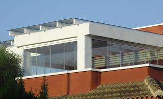 Acristalamiento de una terraza