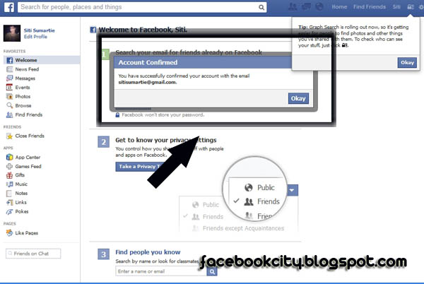 How To Create A Facebook New Account With Email