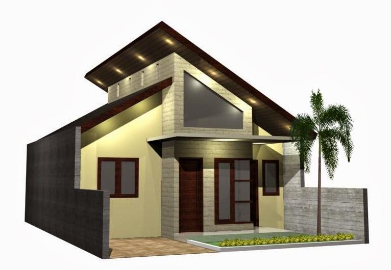 107 Desain Rumah Minimalis Atap Miring Terbaru
