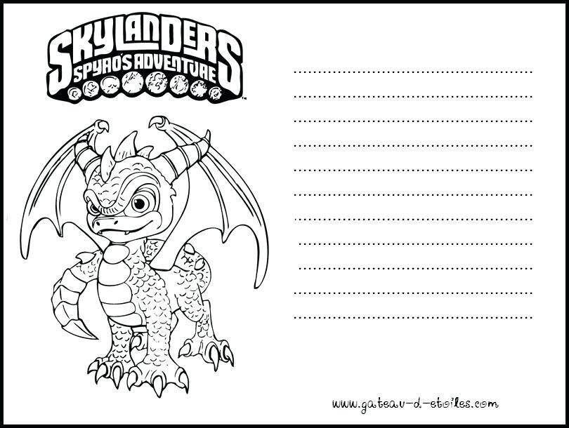Dibujos De Skylanders Para Colorear
