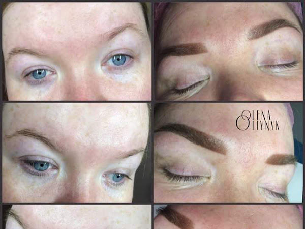 Permanent Make Up By Olena 1 week Brow Update