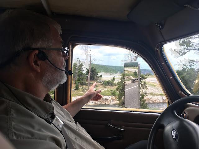 Driver/tour guide Tom