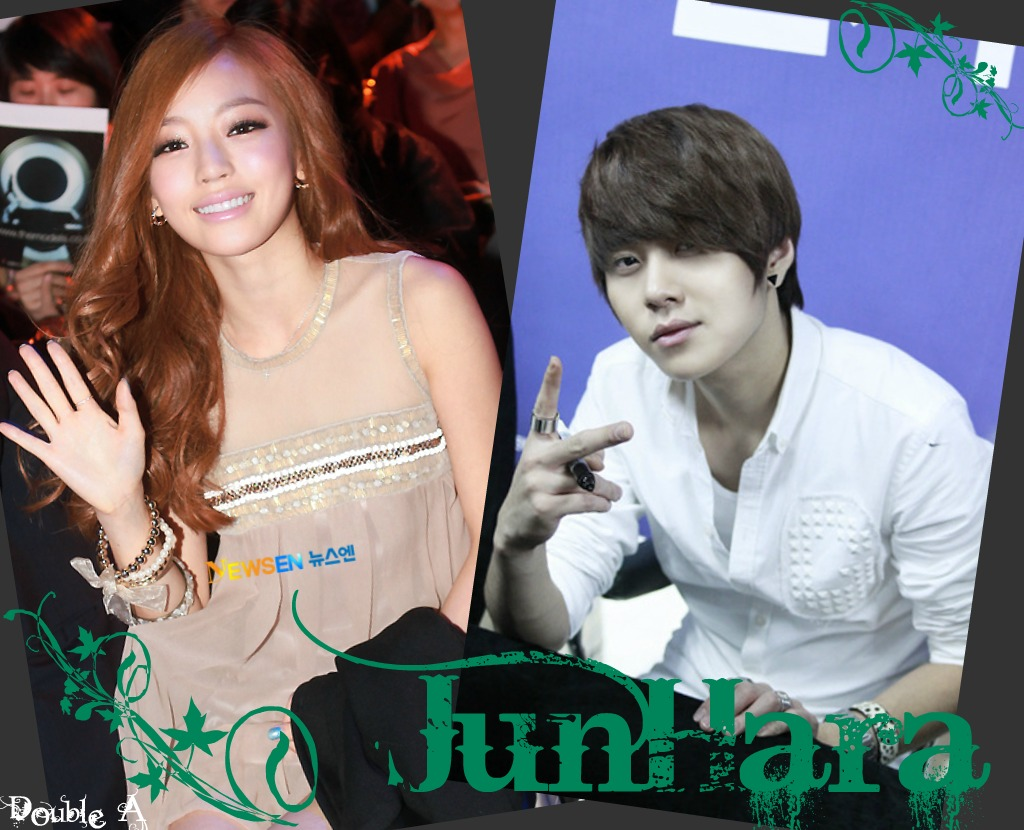 junhyung and hara are dating