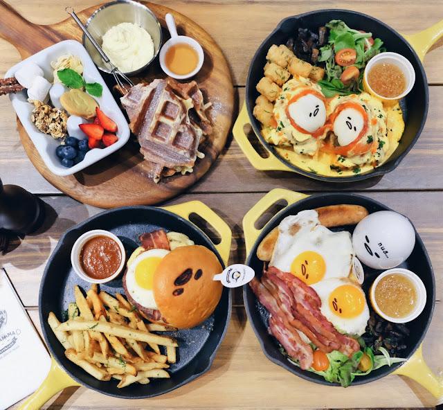 GUDETAMA Cafe Singapore - Suntec City