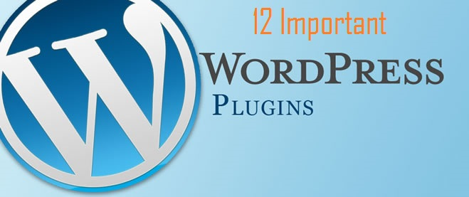 12 Important WordPress Plugins