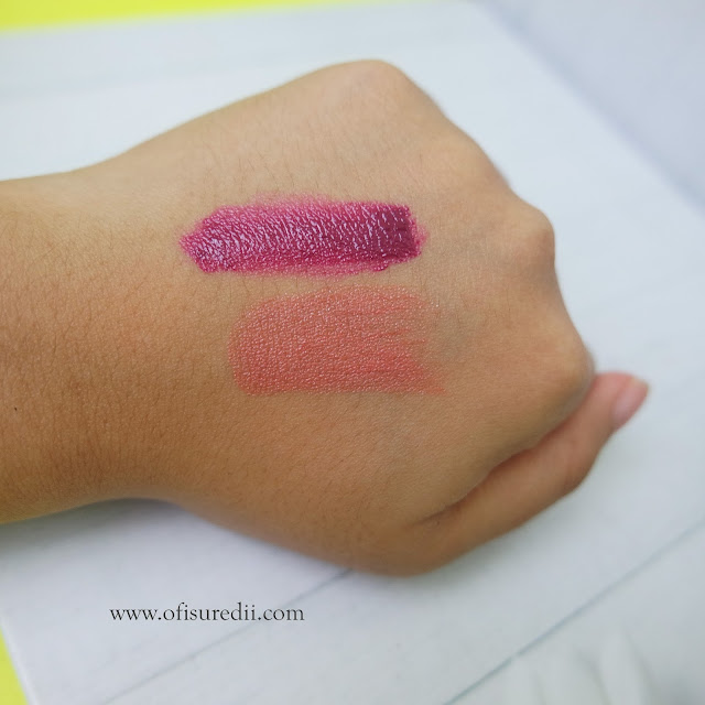 maybelline peach and plum shade