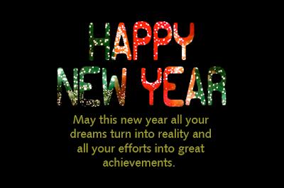 Kartu Ucapan Tahun Baru dalam Bahasa Inggris dan Artinya