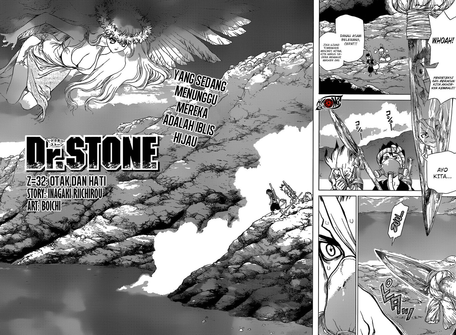 Dr Stone Chapter 32-3