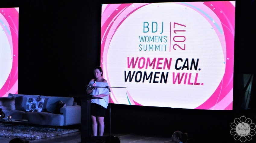 BDJ Women`s Summit 2017: Women Can. Women Will | Introduction of Keynote Speaker by Ms. Darlyn Ty, President of Viviamo! Inc. (www.TheGracefulMist.com)