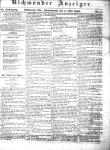 Richmonder Anzeiger. 10. Jg, Nr. 5, Sa., den 4. Juli 1863