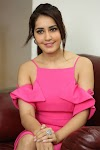 Beautiful South Indian Model Raashi Khanna In Pink Dress