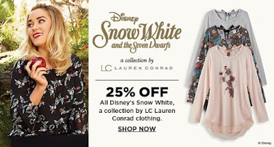 Lauren Conrad Snow White Collection at Kohl's