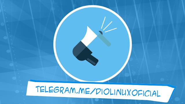 Canal Diolinux no Telegram