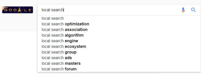 Use the Search Bar - Local Search Google in Mumbai