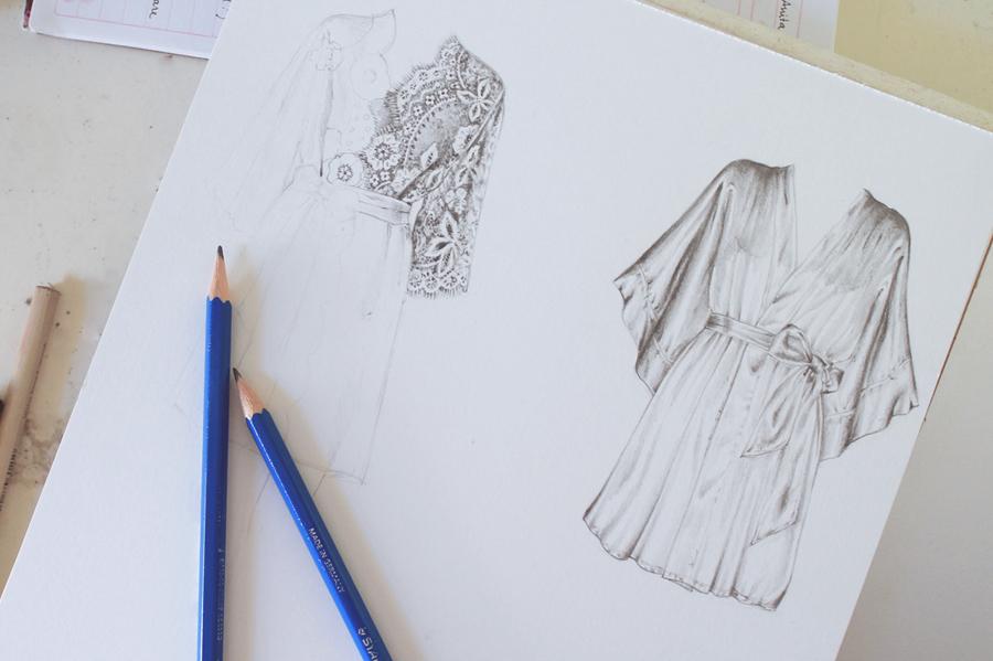 cfd8c16c6 مدونة أرسم بالرصاص : خطوات لتعلم رسم و تصميم الازياء للمبتدئين