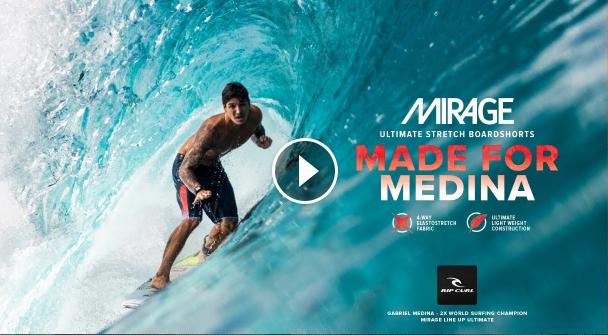Gabriel Medina Line Up Ultimate 20 Mirage Boardshort
