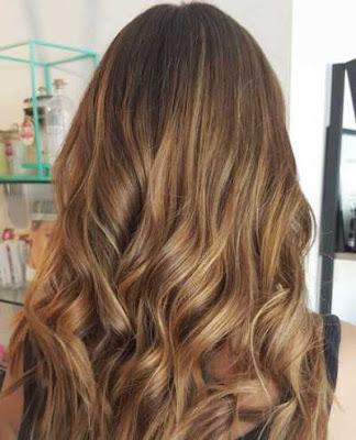 warna rambut brown fade atau coklat pudar