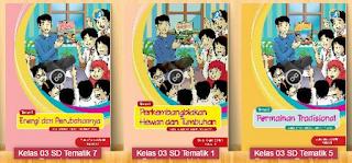 Download Buku Guru SD/MI Kelas 3 Kurikulum 2013 Edisi Terbaru