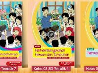 Download Buku SD/MI Kelas 3 Kurikulum 2013 Edisi Terbaru