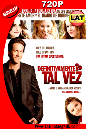 Definitivamente, Tal Vez (2008) Latino HD BDRIP 720P (2008)
