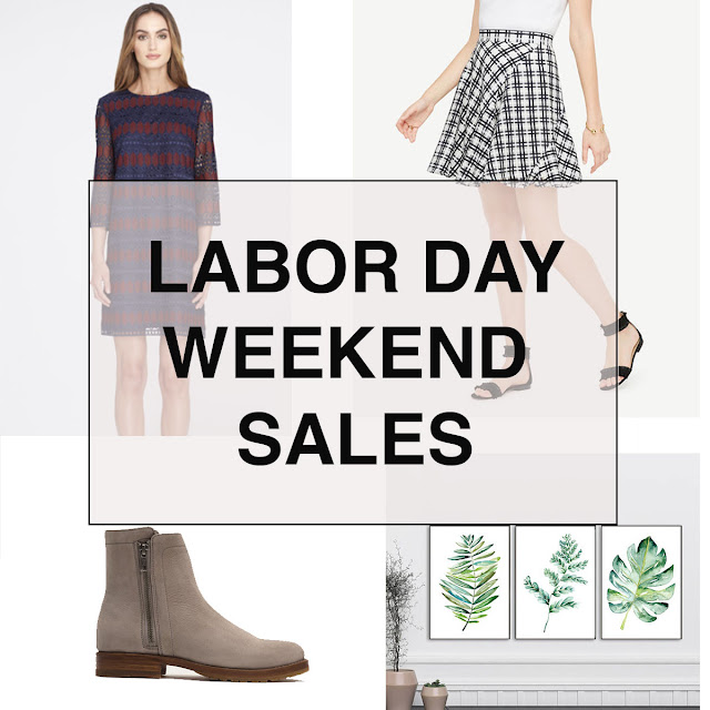 Boston Life & Style Blogger, The Northern Magnolia, rounds up the best Labor Day Weekend Sales on the web and shares some of her favorite selections from each sale!